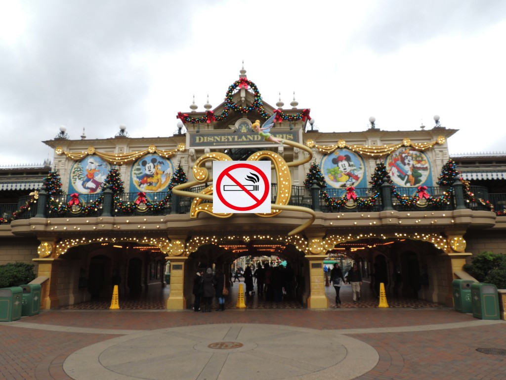 no smoking entrance